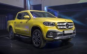 mercedes pick up mercedes benz shows production x class pickup truck still not for us