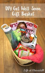 care package sick friend diy get well soon gift basket for friends and family who are sick
