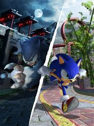 image sonic unleashed artwork sonic the hedgehog and sonic the