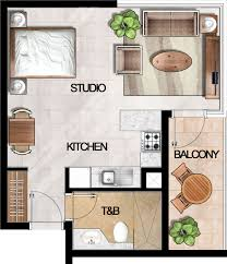 Studio Apartment Floor Plans 5 Boulevard Studio Apartment Floor Plan