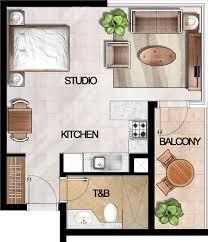 Studio Apartments Floor Plans by 5 Boulevard Studio Apartment Floor Plan