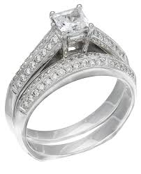 White Gold Wedding Ring Sets by Rwg222 Discounted Price White Gold Diamond Ladies Ring
