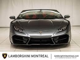 Lamborghini Huracan 2017 - 2017 lamborghini huracán for sale in montréal lamborghini montréal