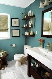 Blue Bathroom Wall Decor Chrome Towel Hanger Wall Mounted White