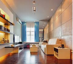 interior good looking apartment studio decoration using glass