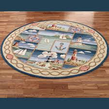 Big Round Rugs Round Nautical Rugs Roselawnlutheran