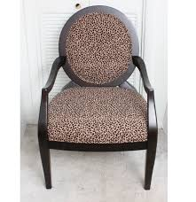Occasional Chair Ashley Furniture Leopard Print Occasional Chair Ebth