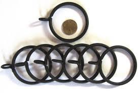 Wrought Iron Curtain Rings Home U0026 Garden Curtain Rods U0026 Finials Find Restoration Hardware