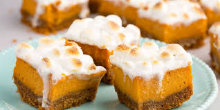 sweet potato marshmallow bars the guru