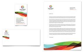 Business Cards And Headed Paper Non Profit Letterheads Templates U0026 Designs