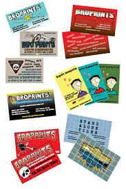 500 Business Cards Broprints Screenprinting Santa Cruz Business Cards And 4x6 Flyer Cards