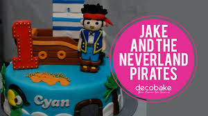 jake and the neverland pirates cake youtube
