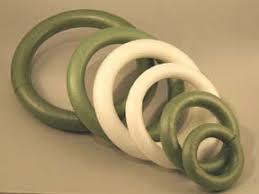 styrofoam wreath easy wreaths basic floracraft