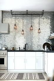 credence cuisine autocollante credence mural cuisine cuisine a credence mosaique grise credence