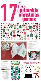 40 free printable christmas games for kids printable christmas