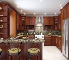 brown top white kitchen cabinets kitchen vinyl flooring u shaped