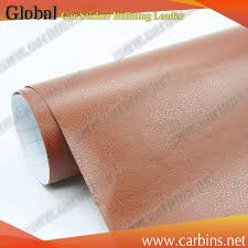 self adhesive leather 30x150cm self adhesive pvc leather vinyl wrap for car door edge