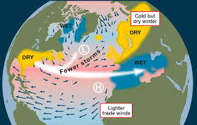 Jet Stream Map How The North Atlantic Oscillation Affects European And Atlantic