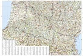 Map Southern France by Wegenkaart Landkaart 3314 Adventure Map Southern France Zuid