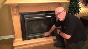 heat u0026 glo gas fireplace operation video youtube