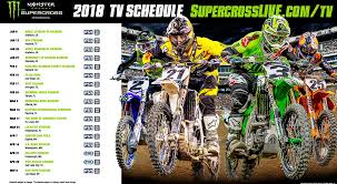 freestyle motocross schedule format changes 2018 monster energy supercross championship