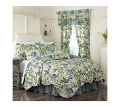 amazon com waverly floral flourish reversible quilt set twin
