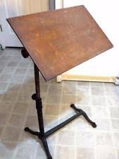 Drafting Table Wooden Antique Drafting Table Ebay