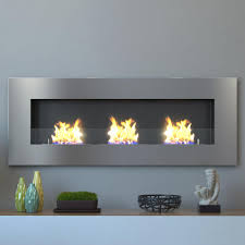moda flame table top moda flame hudson 59 in recessed wall mounted ethanol fireplace in