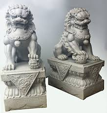 japanese guard dog statues foo dogs statues granite fu temple lions co uk
