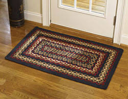 primitive rugs hand hooked and braided country rugs