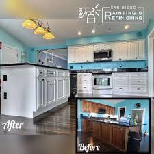 refinishing kitchen cabinets san diego san diego painting refinishing san diego ca us 92139