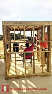 Free Woodworking Plans Diy Projects by Diy Deer Blind Myoutdoorplans Free Woodworking Plans And