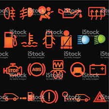 lexus dashboard warning lights rx330 car dashboard icons stock vector art 165617750 istock