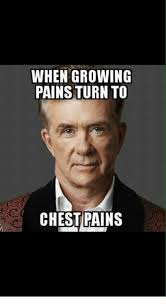 Chest Pain Meme - when growing pains turn to chest pains meme on me me