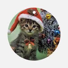 cat ornament cafepress