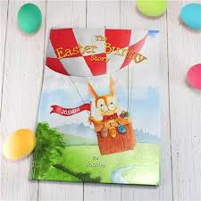 easter bunny book personalised book the easter bunny story a great easter gift