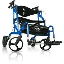 Transport Chairs Lightweight Hugo Navigator Rollator U0026 Transport Chair U2013 Hugo Mobility