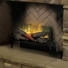 Electric Fireplace Logs Dimplex 20 In Revillusion Electric Fireplace Insert Log Set With