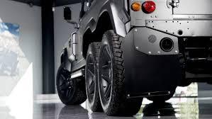 jeep defender for sale khan design s bespoke flying huntsman 6x6 land rover defender on