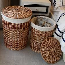 double laundry hamper with lid wicker laundry hamper with lid color u2014 sierra laundry tidy with