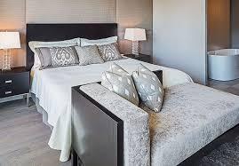 deco chambre grise deco chambre adulte gris et blanc deco maison moderne
