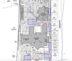 town officials submit plans for public safety complex the valley