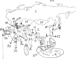 Map Of Asia Quiz Category Asia 0 Justeastofwest Me At Countries Map Quiz