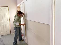 Wall Paneling by Wall Paneling With Fluted Molding Hgtv