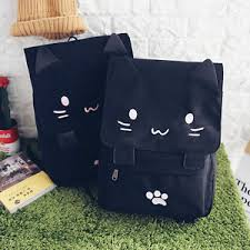 book bags in bulk bulk discount new cat ears shape kawaii embroidery anime