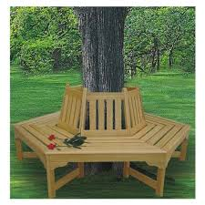 How To Build A Round Picnic Table And Benches how to build a bench around a tree home design garden