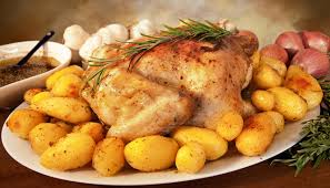 Roast Whole Chicken Roasted Chicken With Lemon U0026 Rosemary 5 Points