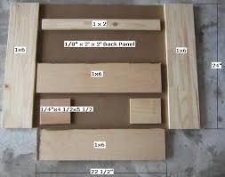 Plans For Gun Cabinet Free Gun Rack Plans How To Build A Gun Rack