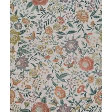 oriental garden wallpaper in cream and jade by missoni home for