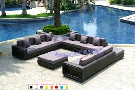Black Wicker Furniture Modern Line Furniture Commercial Furniture Custom Made